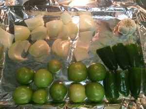Slow Cooker Tomatillo Salsa Chicken